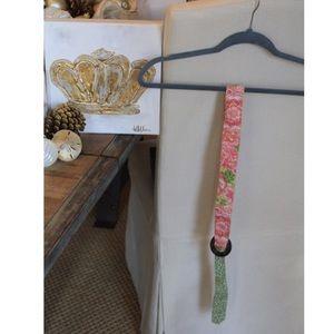 Vera Bradley ribbon belt